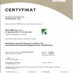 TUV Nord certyfikat